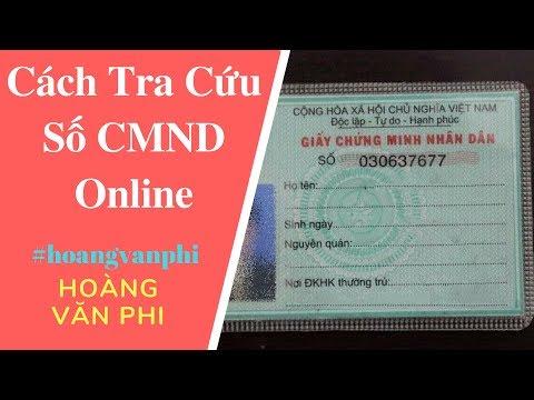 Tra Cứu Chứng Minh Nhân Dân Online CMND Thông Qua Mã Số Thuế theo cách của Hoàng Văn Phi.