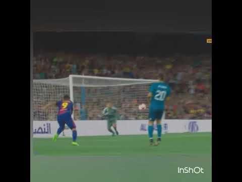 GROSERO Piscinazo de Luis Suarez en la final de la Super Copa de España 2017