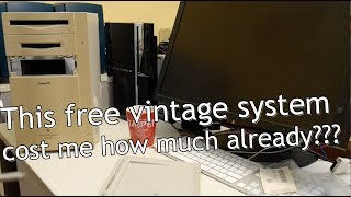 Free vintage Power Mac 8100/80 already costed me how much ?!?!
