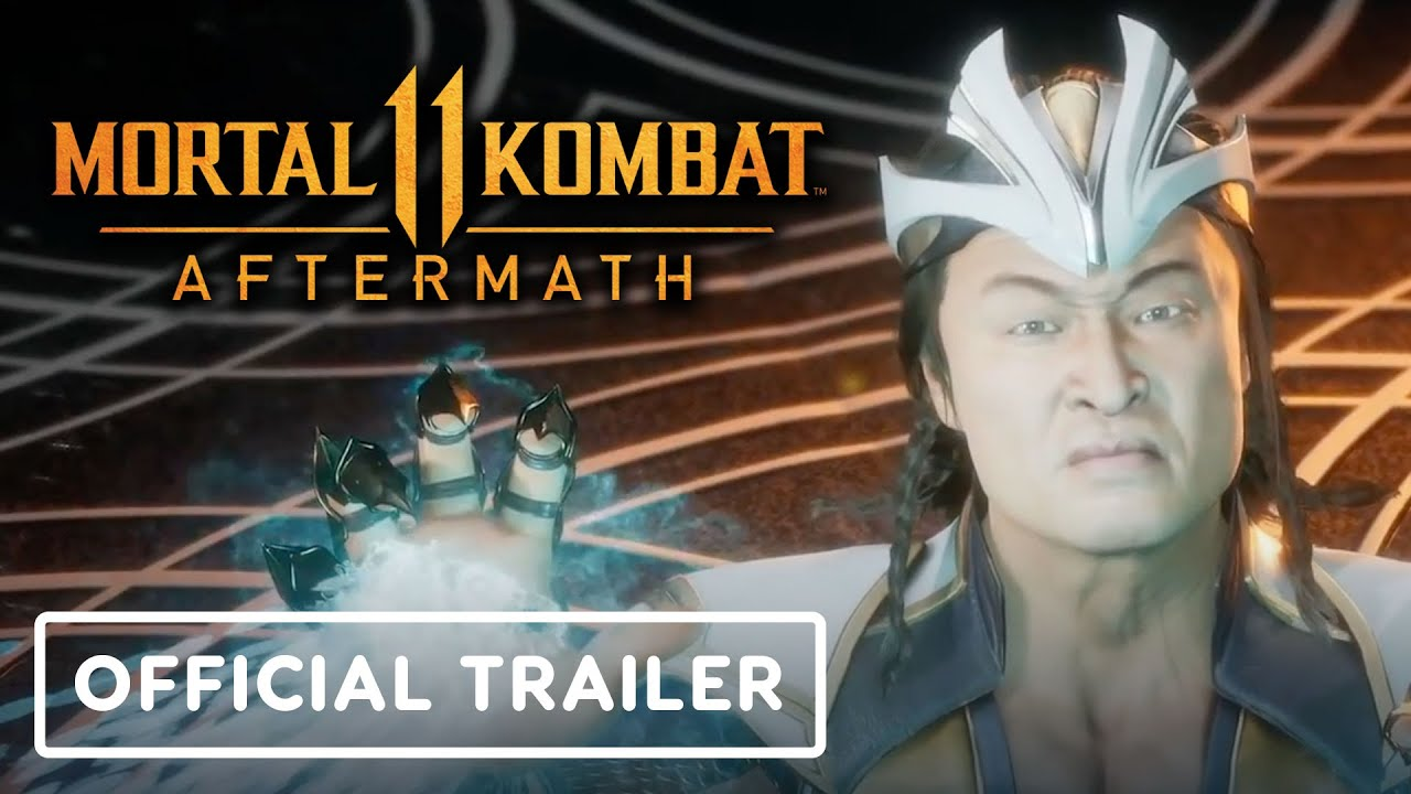 Mortal Kombat 11 Aftermath Official Launch Trailer Youtube