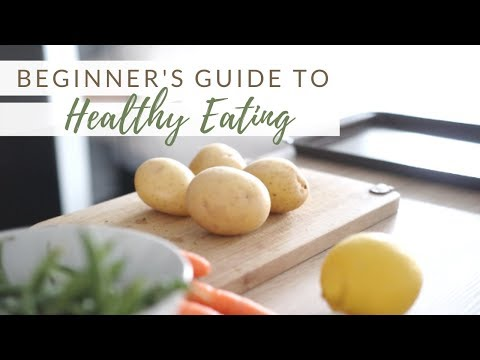 BEGINNER'S GUIDE TO HEALTHY EATING | 10 guidelines + FREE printable