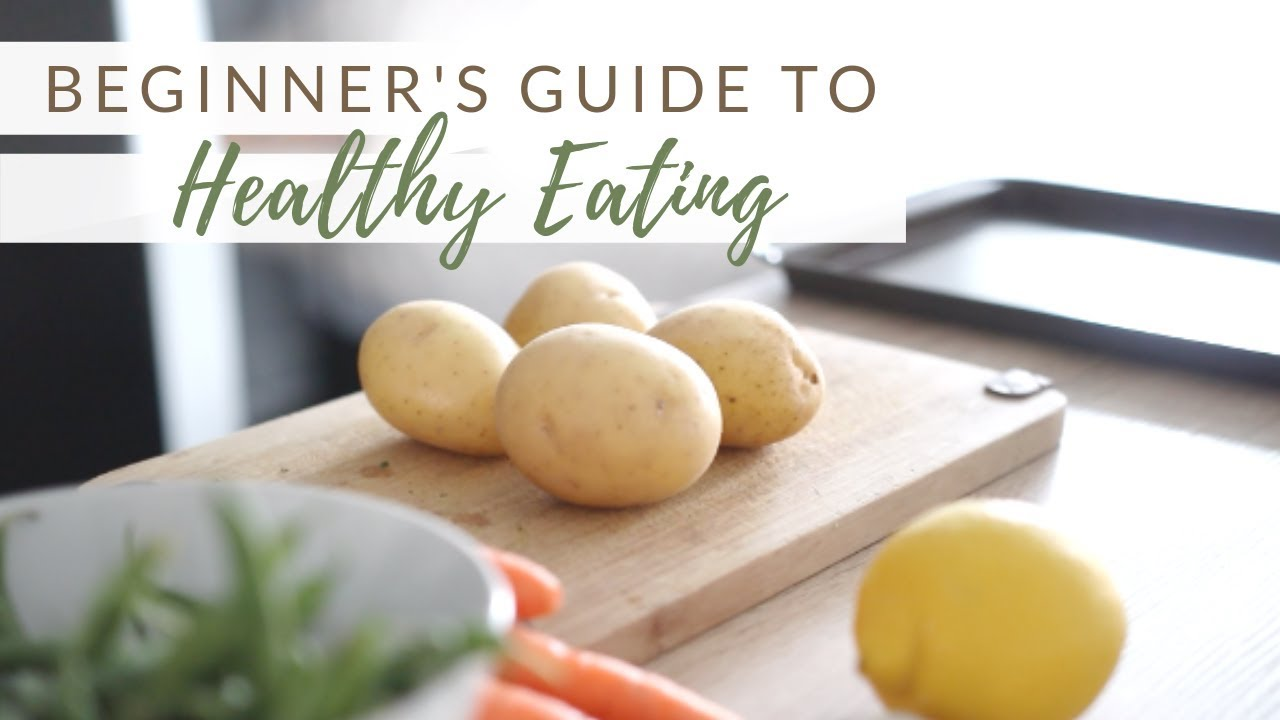 <div>BEGINNER'S GUIDE TO HEALTHY EATING | 10 guidelines + FREE printable</div>