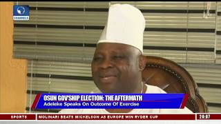 Adeleke Vows To Approach Court Over Osun Governorship Election   Sunday Politics  