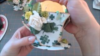 Cup of Gold ( Sizzix tea cup )
