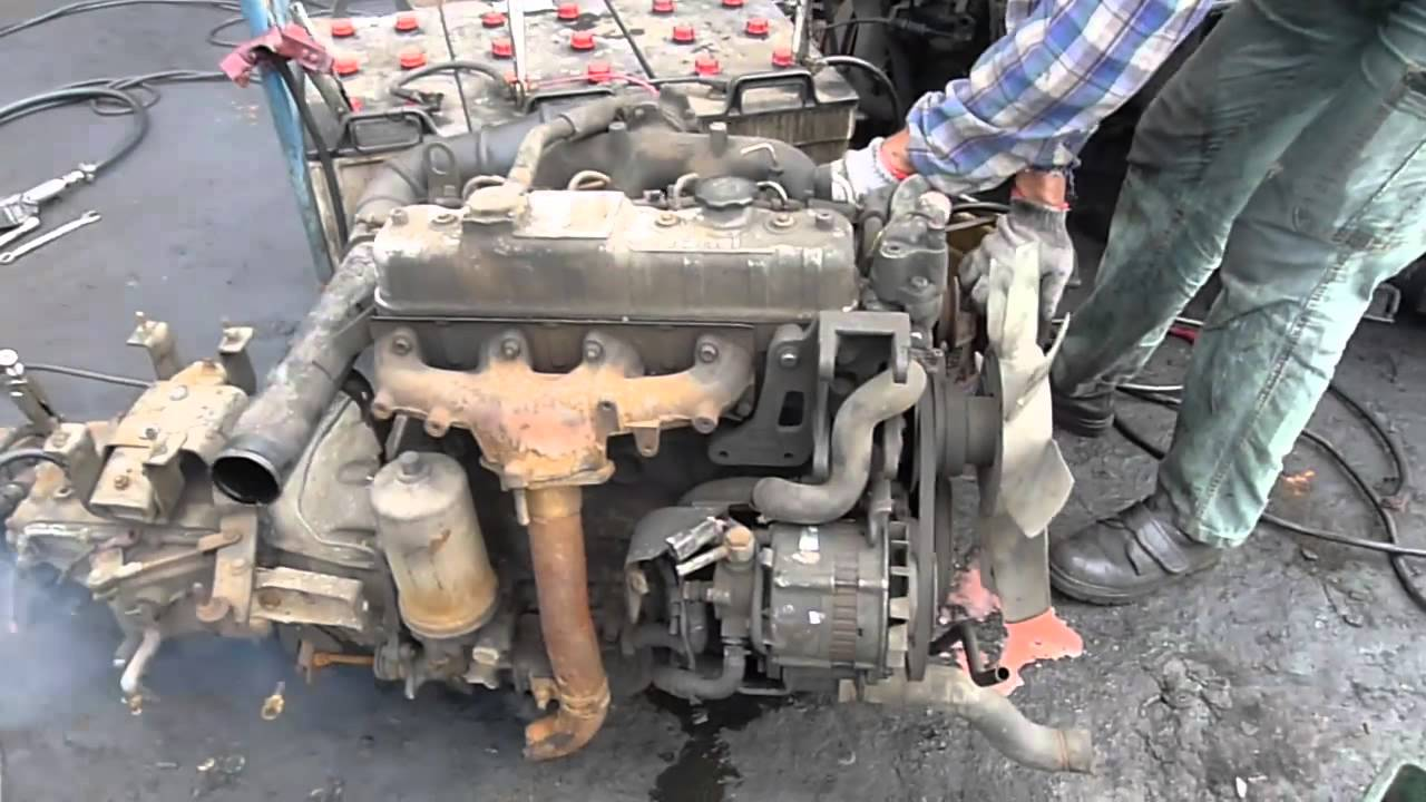Joywell Motor Corporation Used Engine Isuzu 4jb1 Youtube