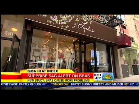 70d577c7b3 Good Morning America Interviews Linda the Bra Lady  Surprise Sag Alert on  Bras