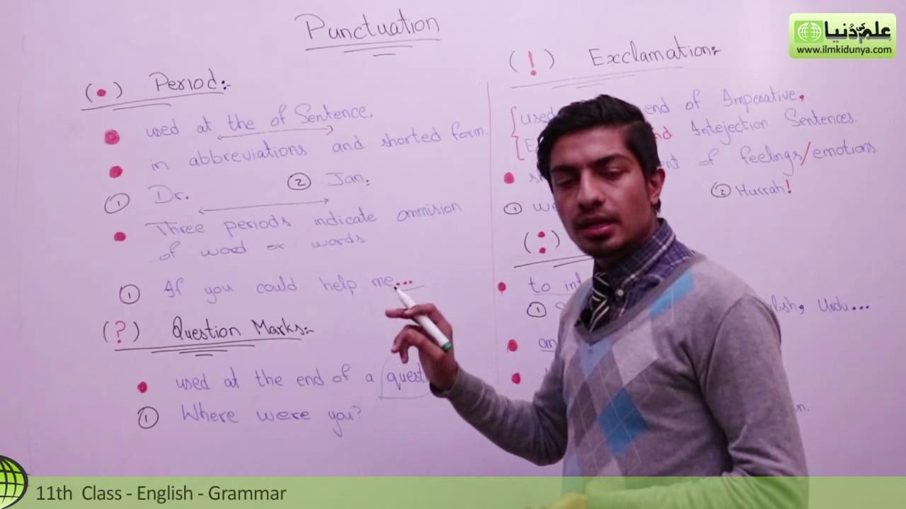 11th english grammar