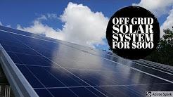Small Off Grid Solar Setup 265 Watts