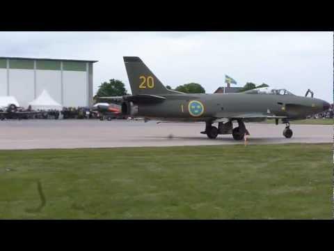 SAAB J32 Lansen F1 Kungl  Västmanlands flygflottilj
