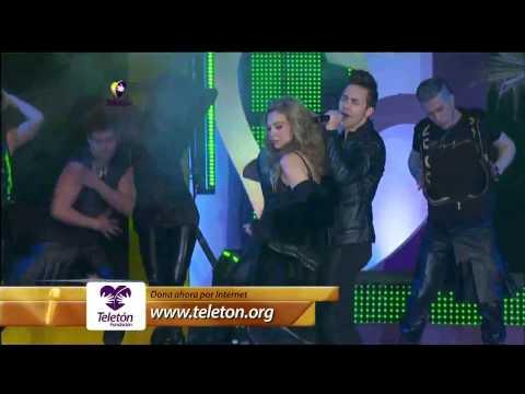 Thalia ft Prince Royce - Te Perdiste mi Amor (Teleton 2013) HD