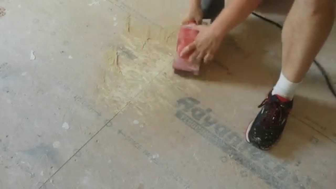 How To Paint Osb Subfloor