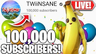 🔴 HITTING 100,000 SUBSCRIBERS LIVE!💯