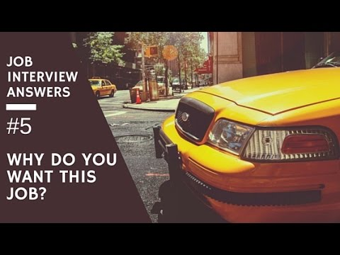 """""""Why Do You Want This Job?"""" Job Interview Questions & Answers #5"""