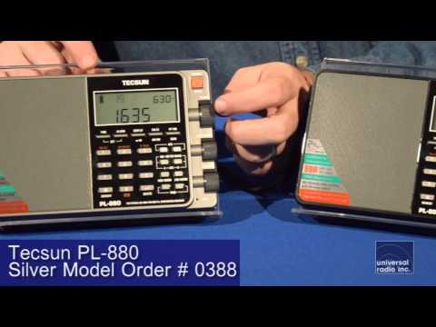 Universal Radio presents the Tecsun PL-880