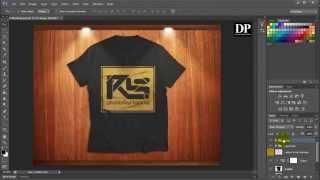Tutorial Membuat Design Mockup Untuk baju di Photoshop.