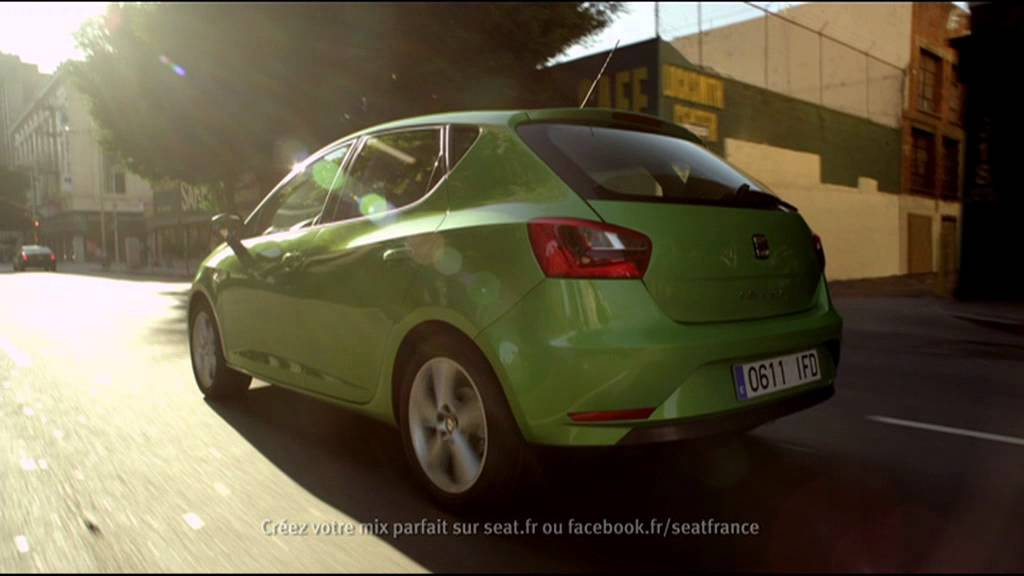 nouvelle seat ibiza la citadine seat ibiza youtube. Black Bedroom Furniture Sets. Home Design Ideas