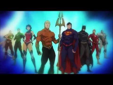 Justice League Throne Of Atlantis Music Video