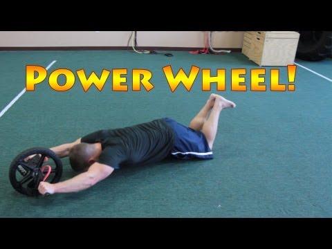 10 Core Exercises Using a Power Wheel