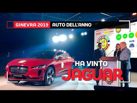 Jaguar I-Pace è Auto dell'Anno 2019!