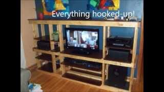 Custom Entertainment Center By Me