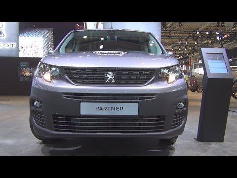 Peugeot Partner Asphalt Avantage Plus BlueHDi 130 S&S L2 Panel Van (2019) Exterior and Interior