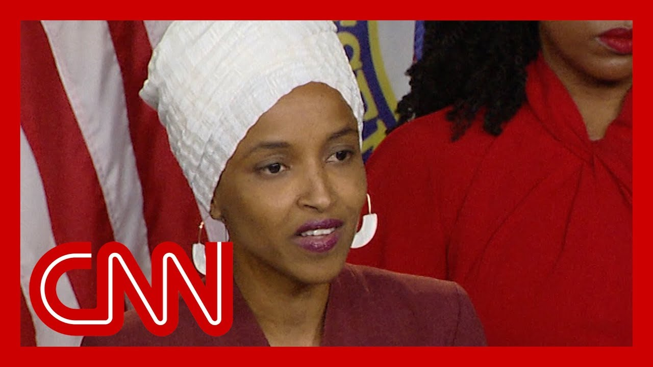CNN:Rep. Ilhan Omar: The eyes of history are watching us