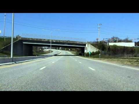 Quonset Freeway (RI 403) westbound