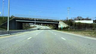 Quonset Freeway (RI 403) westbound