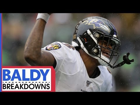 Why Lamar Jackson is a LEGIT MVP Candidate | Baldy Breakdowns
