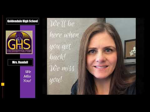 """Goldendale High School """"Staff Miss You"""" Video"""