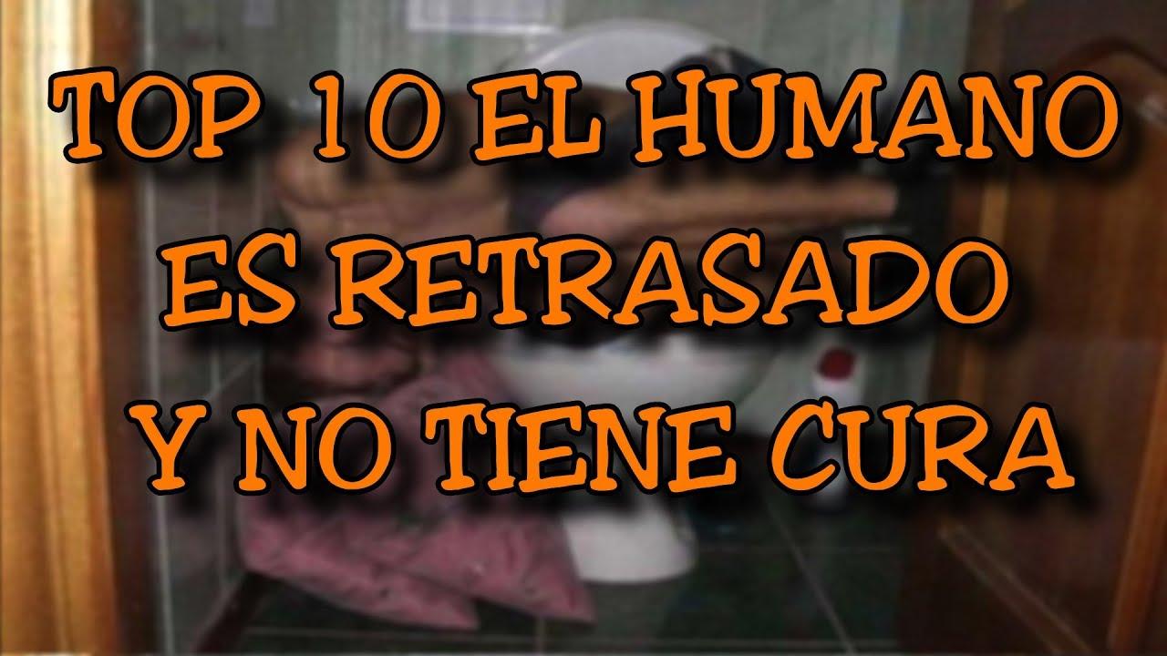 Top 10 El Humano Es Retrasado Y No Tiene Cura 8cho Youtube