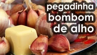 Pegadinha do bombom de alho (receita) - Chocolate's candy Easter prank and recipe