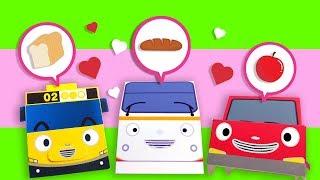 Tayo Lagu Mereka Sangat Mirip boneka kertas l Lagu untuk anak-anak l Tayo Sing Along S1 Bahasa