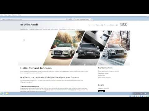 how to log a vw audi digital service erwin