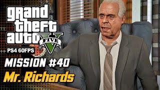 【GTA 5 100%】 Mission 39 - Mr.Richards - Walkthrough Part 77 [GOLD MEDAL]