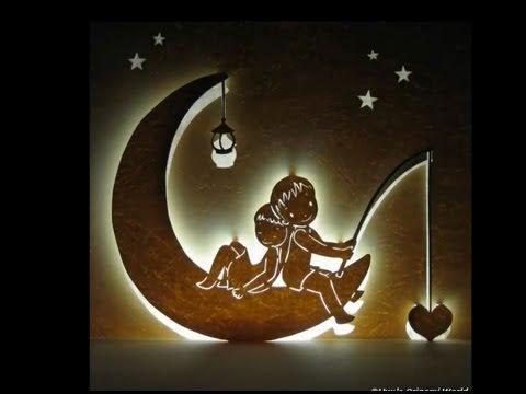 Moon Night Valentine Love Pop Up Card Tutorial Youtube
