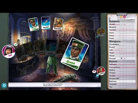 lets play Clue Cluedo The Classic Mystery Game part 4
