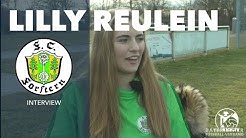 Und Action: Lilly Reulein (FC Forstern) über ihr Hobby die Schauspielerei
