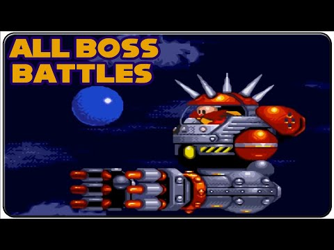 Sonic The Hedgehog 3 All Bosses