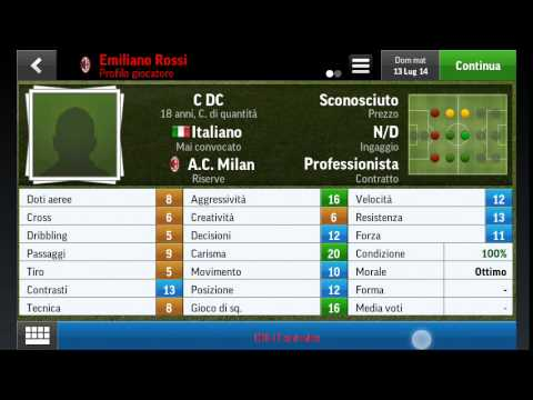 1 EP. Football manager handheld 2015 Milan link ap