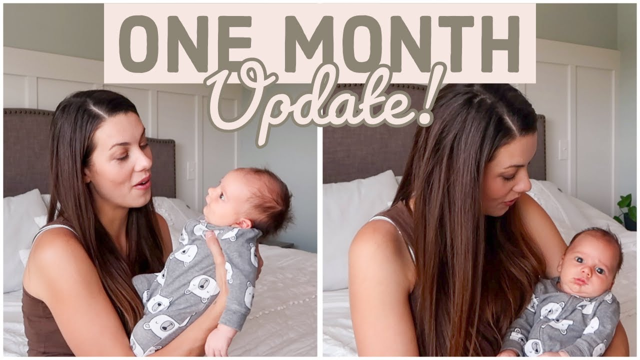 LATCH ISSUES, EXERCISE POSTPARTUM + SEX 😱 | 1 MONTH BABY & MAMA UPDATE
