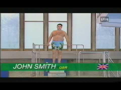 JOHN SMITH'S(PETER KAY) DIVING ADVERT