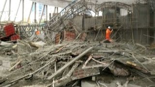 Dozens killed in China construction collapse