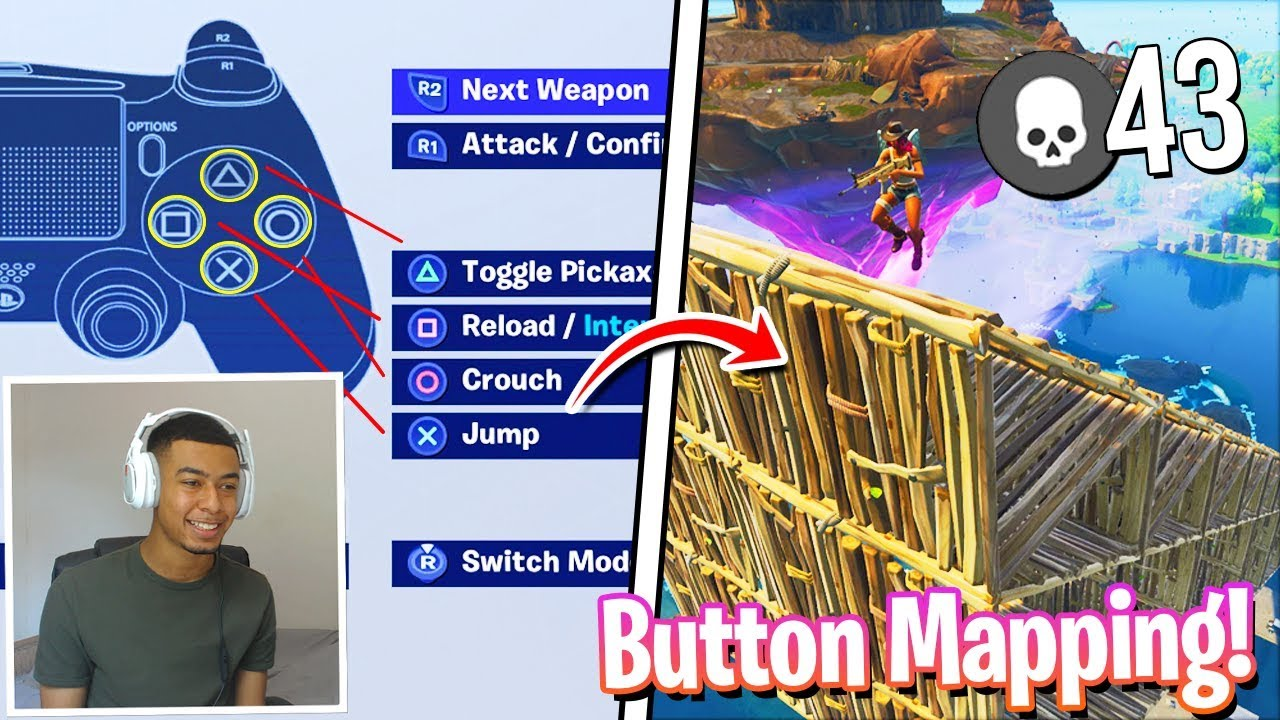 BEST Keybinds/Button Layout On Console Fortnite! - PRO ...