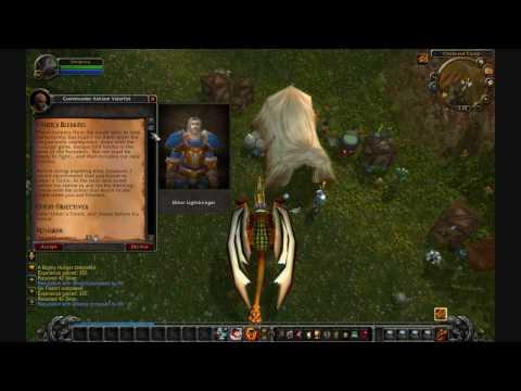 Cataclysm Beta - Alliance Battle of  Andorhal Questline pt2