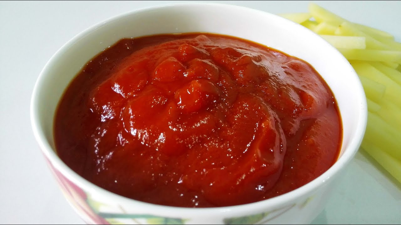 How to make ketchup at home Homemade ketchup - recipes 86