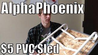The $5 PVC DIY Sled
