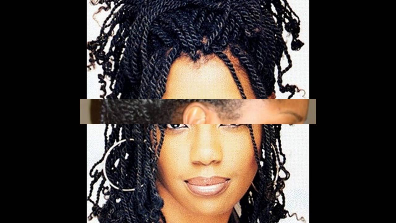 African twist braid hairstyles ideas - YouTube