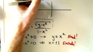 Multivariable Calculus Finding and Sketching the Domain