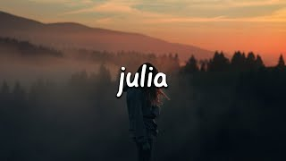 Jeremy Zucker - julia (Lyrics)